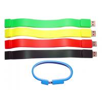 Quality OEM promotional wristband 16GB Bracelet USB Flash Drive belt strapping AT-051 for sale