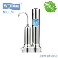 Buy cheap Household Ceramic Countertop Water Filter With Stainless Steel Faucet from wholesalers