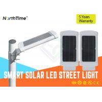 3 - 4 Meter Pole 10 W LED Solar Panel Street Lights With