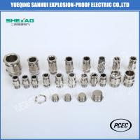 Buy cheap BDM-10 single sealed Explosion Proof  Weatherproof  Cable Glands for non-armoured Cable from wholesalers