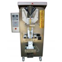 Buy Bagged Liquid Automatic Food Packing Machine Lightweight Trilateral Seal at wholesale prices