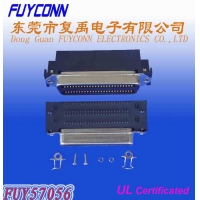 Quality PCB DIP Type Female 100 Pin Centronics Connector Receptacle Header for sale
