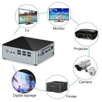 Quality KC3-I5 7200U Ultra Compact Pc / High Performance Mini Pc Small Fast Quiet for sale