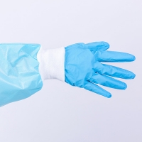 Buy cheap Powder Free Disposable Nitrile Gloves For Food Processing from wholesalers
