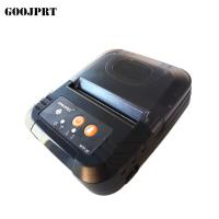 Quality 3 Inch 80mm Bluetooth Mobile Printer , Small Portable Printer With USB Cable Charging for sale