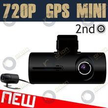China mini x3000 New Car Dual Camera Recorder (HD720p/G-Sensor/GPS) on sale