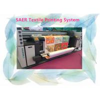 Quality Large Format Fabric Epson Color Printer Automatic 3.5kw Heater Power 12 Month Warranty for sale