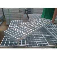 Quality Industrial Steel Stair Treads Grating / Stainless Steel Step Treads for sale