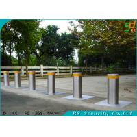 Buy cheap Remote Control Driveway Security Posts Retractable Security Bollards from wholesalers