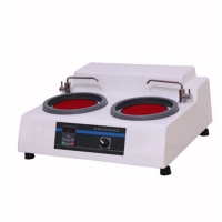 Quality MP-2B Metallographic Specimen Grinding And Polishing Machine With Variable Rotating Speeds for sale