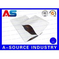 Quality Heat Seal Custom Printed Resealable Aluminum Foil Packaging Bags SGS ISO 9001 for sale