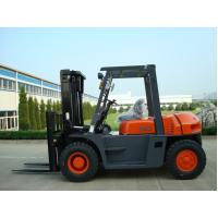 Quality Automatic 6 Wheel Forklift , Material Handling 5 Ton Lifted Diesel Trucks for sale
