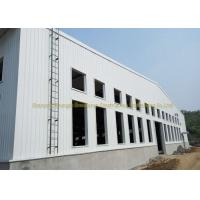 Quality Wide Span Warehouse Steel Structure Prefabricated Warehouse Buildings In Steel for sale