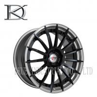 Forged Black Racing Wheels 18 Inch Chrome Rims Reduce Fuel Consumption