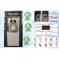Quality Pre-cooling Frozen Yogurt Machines ,Gravity Feed and Keep Mixture Fresh for sale