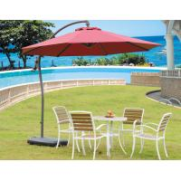 China Water Resistant Windproof Single / Double Patio Umbrella Free Standing Garden Parasols on sale