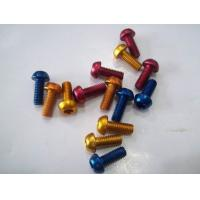 Buy cheap Titanium Alloy Flange Bolts With Holes For Motorcycle parts GR5 Ti6al4v baoji from wholesalers