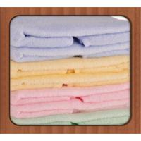 Quality Wholesale China Supplier Thicken Solid Color Jacquard 100% Cotton Hotel Face Towel for sale