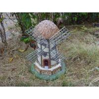 Quality Windmill vintage Funny Garden Gnomes  solar light ornaments for unusual gifts for sale