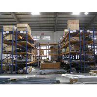 Quality Galvanized / powder coated finished double deep pallet rack for Factory for sale