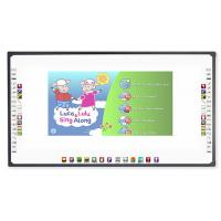 Quality Big Projection Screen Size Optical Interactive Whiteboard Finger Writing for School for sale