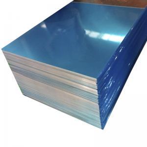 Buy cheap Blue Color Coated Flat Aluminum Sheet , 0.1mm - 500mm Width Aluminum Plate from wholesalers