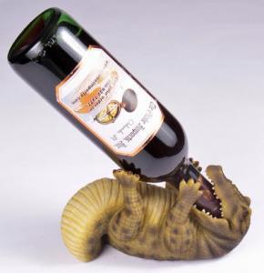 China 2012 New Cute resin animal wine bottle holder on sale