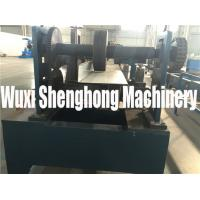Quality Touch Screen Controls Z Purlin Roll Forming Machine With Button Switch for sale