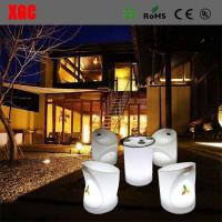 Buy cheap LED Furniture 16 color changable Whaterproof Furniture LED Glowing Chair For Outdoor Yard Garden Party Club Event Park from wholesalers