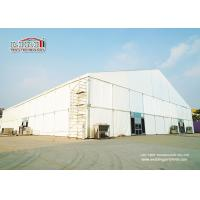 Quality 50m width PVC and Aluminum event tents for magic show with clear span , white marquee tent for sale