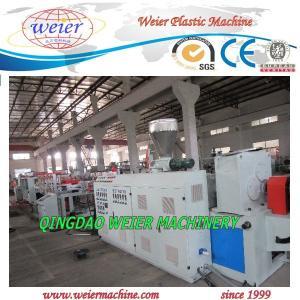 Quality 75kw 380V PVC Foam Board Machine PLC Control System CE / ISO9001 for sale