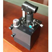 China High Pressure PM 25 / 45 / 65 Double Acting Hydraulic Hand Pump for Tralier on sale