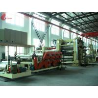 China Oil Heating PVC Calender Machine 4 Roll Anti Abrasive For Making Rubberized Fabric on sale