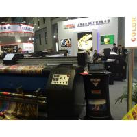 Quality Roll To Roll Directly Print Cotton Fabric Material Printer With Pigment Ink for sale