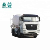 China Customized Self Loading Concrete Mixer Truck SINOTRUK HW19710 Transmission on sale