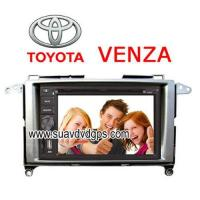 Quality Toyota VENZA special Car DVD Player GPS Navigation bluetooth RDS IPOD for sale