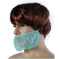 One Time Use Polypropylene Beard Face Mask 10 GSM Thickness Light Blue Color