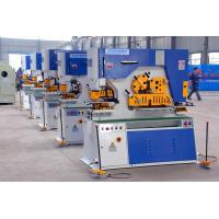 Buy cheap Q35Y Series Hydraulic Metal Plate Ironworker Punching And Notching With 90 Ton from wholesalers