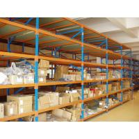 Quality Teardrop Multi Layer 82FT/2.5M Industrial Metal Shelving In Warehouse Storage Solution for sale