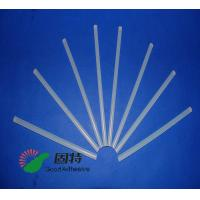 Quality Light White Transparent Hot Melt Adhesive Stick  , Solid High Strength Hot Glue Gun Sticks for sale