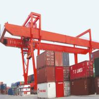 Quality 25 Ton Shipping Electric Overhead Crane Double Girder Apply In Mobile Container for sale