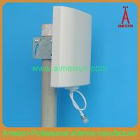 Quality Outdoor/Indoor 1.2GHz 10dBi Flat Panel Antenna - Integral N Female Connector for sale