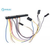 Quality 2.54mm Pitch Ribbon Cable Assemblies , Crimping / Pressing Electrical Wiring Harness for sale