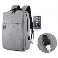 Quality Fashionable Notebook Washable Travel Laptop Backpack With USB Port for sale