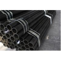 Quality JIS G3444 STK290 Weld Mild Steel Tubing , Round Furniture Steel Tubes 35mm Thick for sale