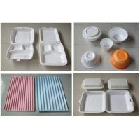China 60Hz Food Box Machine / EPS Foam Clamshell Take Away Containers Production Line on sale