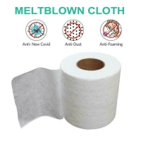Quality ASTM 99% BFE PP Interlining Meltblown Nonwoven Fabric for sale