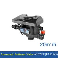 Quality 20 M3/H Capacity Water Softener Control Valve 63520T(F111A1) / 63620T(F111A3) for sale