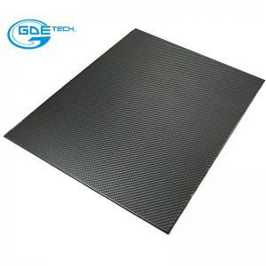 Quality 3k carbon fiber laminated board with CNC carbon fiber for sale