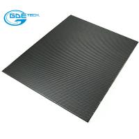 Quality 3k carbon fiber laminated plate with CNC cutting carbon fiber for sale